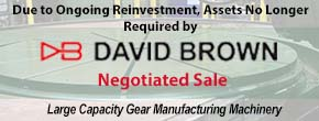 David Brown Negotiated Sale