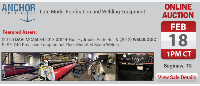 Late Model Fabrication and Welding Equipment