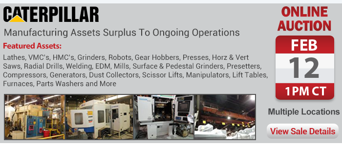 Manufacturing Assets Surplus To Ongoing Operations
