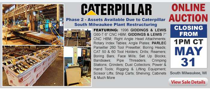 Phase 2 - Assets Available Due to Caterpillar South Milwaukee Plant Restructuring