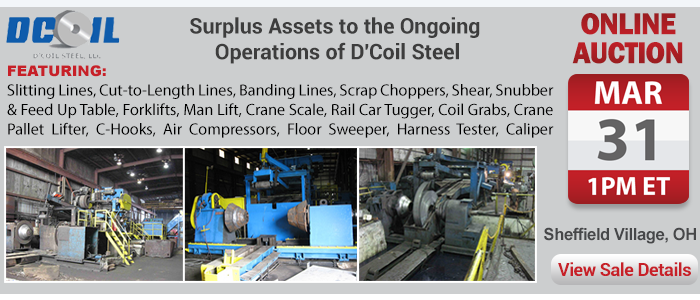 Surplus Assets to the Ongoing Operations of D'Coil Steel