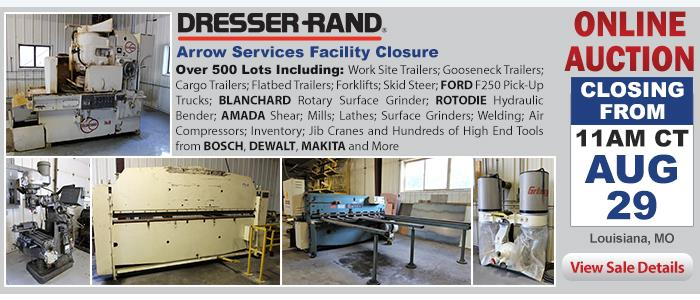 Dresser-Rand's Arrow Services Facility Closure