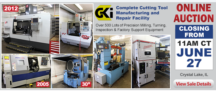 Complete Cutting Tool Manufacturing and Repair Facility