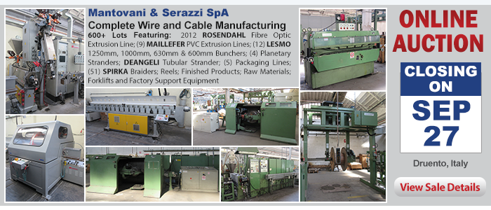 Complete Facility Closure - Mantovani & Serazzi, SpA