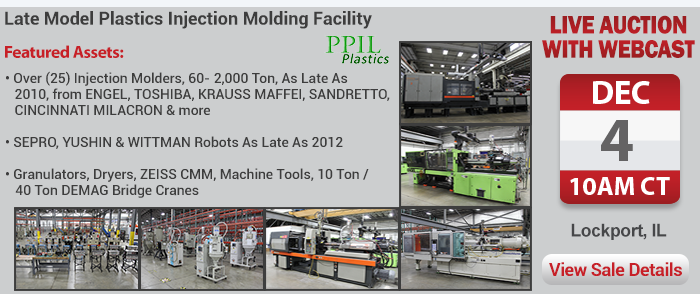 Late Model Plastics Injection Molding Facility