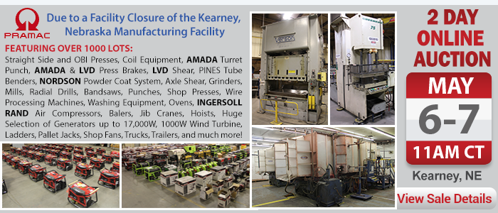 Pramac America LLC - Due to a Facility Closure of the Kearney, NE Manufacturing Facility