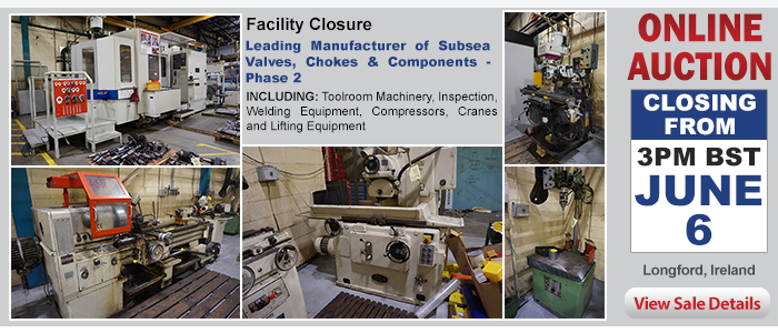 Facility Closure - Leading Manufacturer of Subsea Valves, Chokes & Components - Phase 2