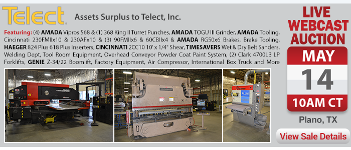 Assets Surplus to Telect, Inc.