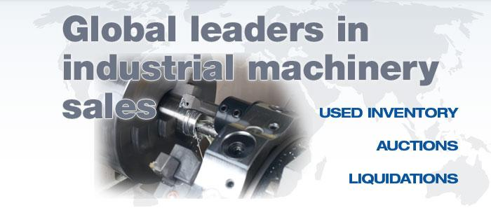 Global leaders in industrial machinery sales.