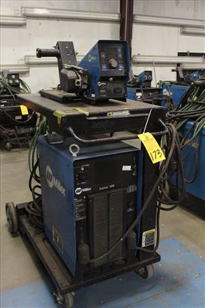Used Miller Axcess 450 Dc Perfection Industrial Sales