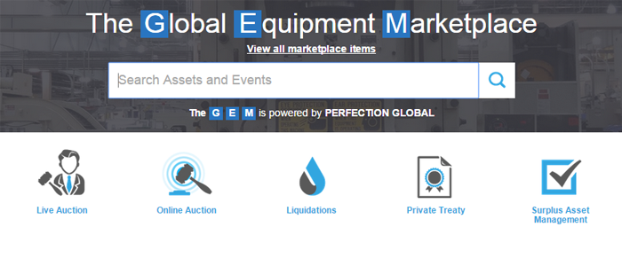 Perfection Global Equipment Marketplace