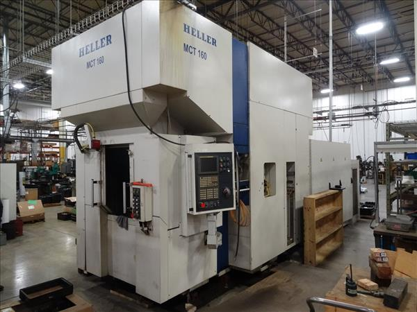 Used Heller Mct 160 Perfection Machinery Sales