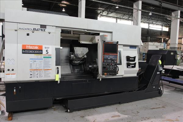 Used MAZAK INTEGREX 200-IVS | Perfection Machinery Sales