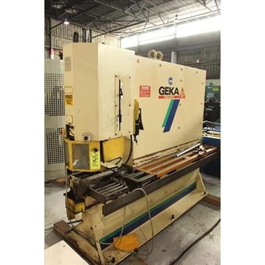 GEKA PUMA 220/S SINGLE END HYDRAULIC PUNCH