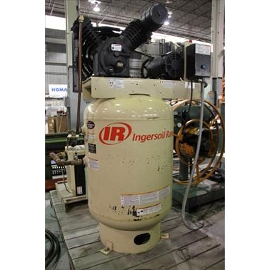 INGERSOLL RAND 2545 PISTON TYPE AIR COMPRESSOR