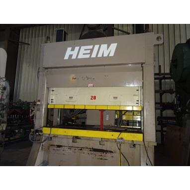 HEIM S2-250 STRAIGHT SIDE DOUBLE CRANK PRESS