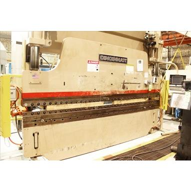 CINCINNATI 90FM II X 10 4-AXIS HYDRAULIC CNC PRESS BRAKE