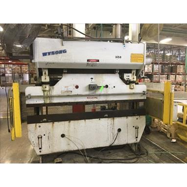 WYSONG H60-96 HYDRAULIC PRESS BRAKE