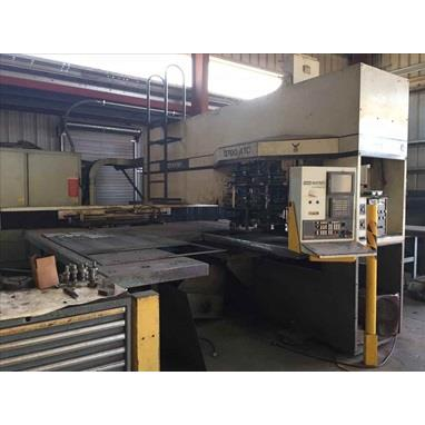 WHITNEY 3700-ATC COMBINATION CNC PUNCH AND PLASMA
