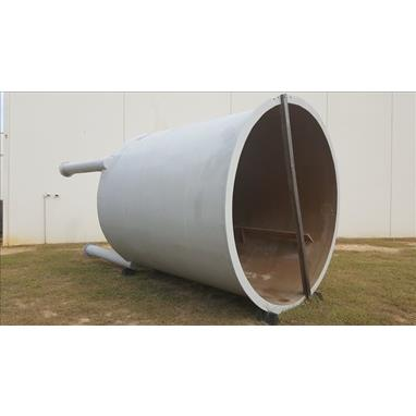 AUGUSTA 5000 GAL CONICAL BOTTOM FIBERGLASS TANK *NEW, NEVER USED*