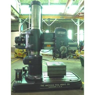 AMERICAN HOLE WIZARD 4 X 15 RADIAL ARM DRILL