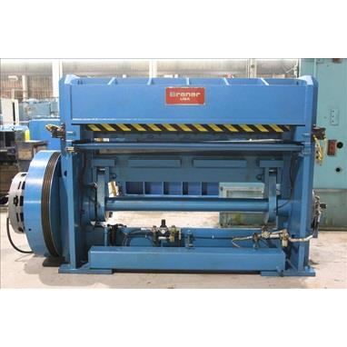 BRANER 72 X 1/4 HIGH SPEED MECHANICAL SHEAR FOR CUT-TO-LENGTH LINE
