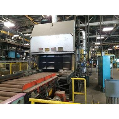 EF ROLLER HEARTH HEAT TREATING FURNACE