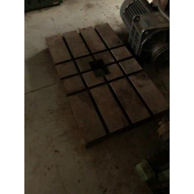 BOLSTER PLATE, 39 X 23 X 4, 6 T-SLOTS