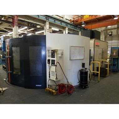 MAZAK E-1550V/10 II 5-AXIS MACHINING CENTER