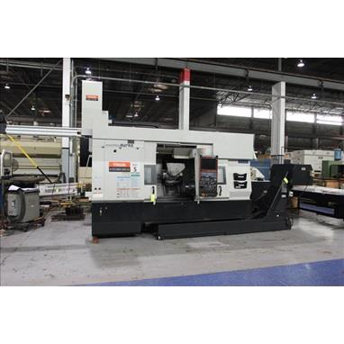 MAZAK INTEGREX 200-IVS CNC MILL TURN CENTER W/ GANTRY LOADER