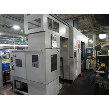 MORI SEIKI NT4200/1000SZ DCG 5-AXIS CNC MILLING AND TURNING CENTER W/ GANTRY LOADER