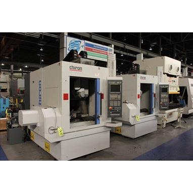 CHIRON FZ 12 MT 5-AXIS HIGH SPEED MILLING AND TURNING CENTER