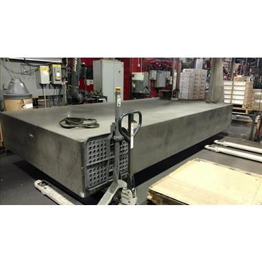 STARRETT 15 X 7.5 X 2 40,000 LBS. GRANITE TABLE