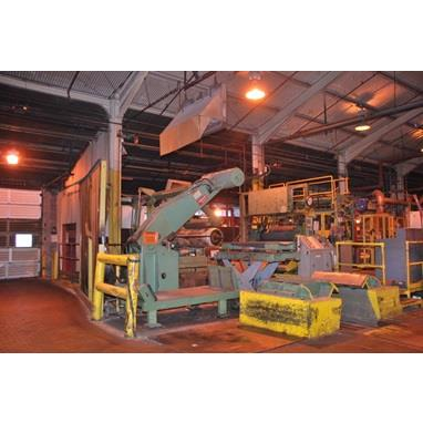 STAMCO HUNTER 28,000 LBS X 60 ALUMINUM TENSION LEVELING & COATING LINE