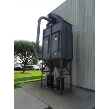CARBORUNDUM 1000CN-2 BAGHOUSE STYLE DUST COLLECTOR