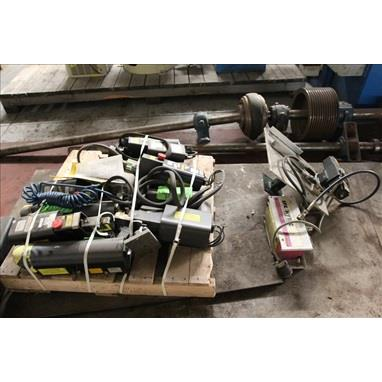 PALLET OF DANIELS CORP HX-23 PNEUMATIC CRIMPERS