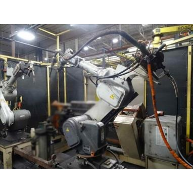 PANASONIC VR008 ROBOTIC WELDING CELL