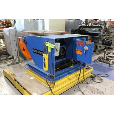KOIKE ARONSON MD3000 6,600 LBS. POWERED TILT WELDING POSITIONER