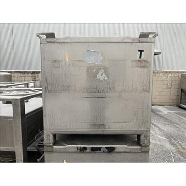 TOTE SYSTEMS 42 CU. FT STAINLESS STEEL TOTES, (35) AVAILABLE
