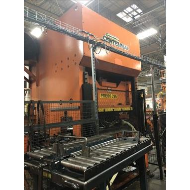 GREENERD HCTG150 HYDRAULIC STRAIGHT SIDE PRESS