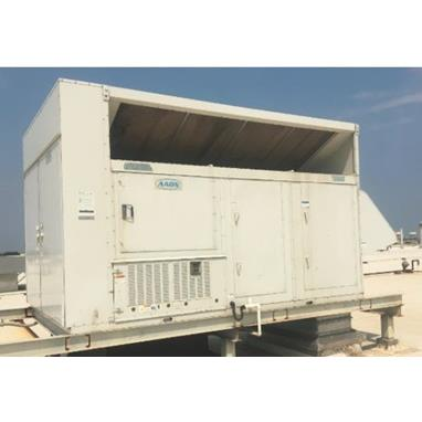 AAON POWDER COATING A/C UNIT