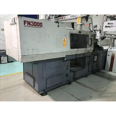NISSEI FN3000 154 TON INJECTION MOLDERS W/ ROBOT, (4) AVAIL.