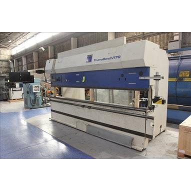 TRUMPF TRUMABEND V170 8-AXIS CNC HYDRAULIC PRESS BRAKE
