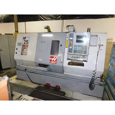 HAAS TL-25 4-AXIS CNC TURNING CENTER W/ LIVE TOOLING
