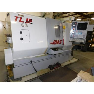 HAAS TL-15 CNC TURNING CENTER W/ LIVE TOOLING, (2) AVAILABLE