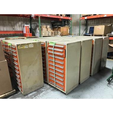 LISTA BALL BEARING TOOL CABINETS, (35) AVAILABLE