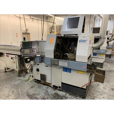 STAR SR-20R II TYPE 660 CNC SWISS TYPE SCREW MACHINE