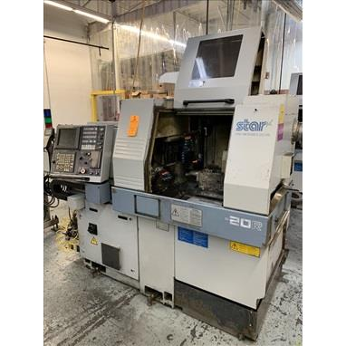 STAR SR-20R TYPE 540 CNC SWISS TYPE SCREW MACHINES, (3) AVAILABLE