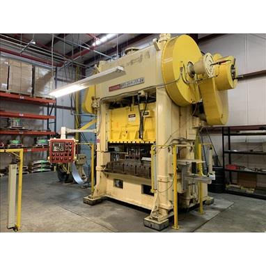 NIAGARA BP2-200-72-36 200 TON STRAIGHT SIDE PRESSES
