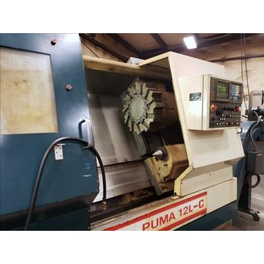 DAEWOO PUMA 12L-C CNC TURNING CENTER